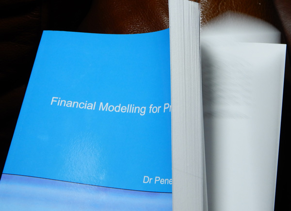 picture of book, Financial Modelling for Project Finance